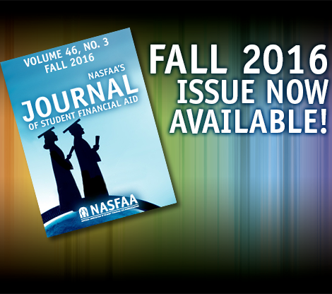 Journal of Student Financial Aid
