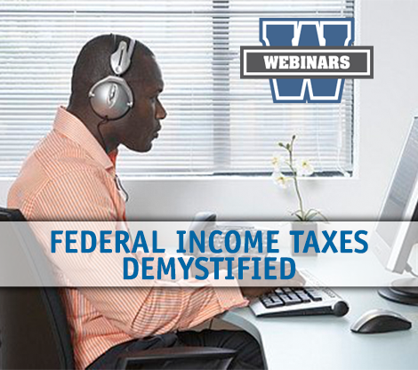 Federal Income Taxes Demystified