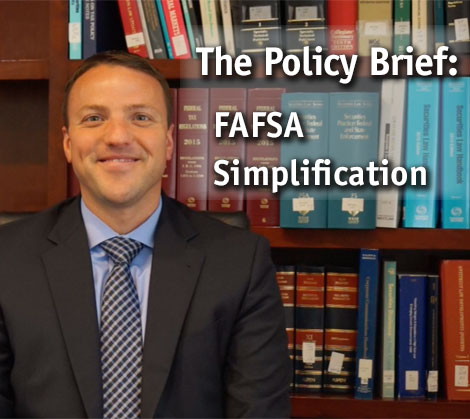 Policy Brief: FAFSA Simplifcation