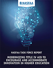 Moderinizing Title IV Aid Report