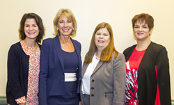 NASFAA Leadership with Betsy DeVos