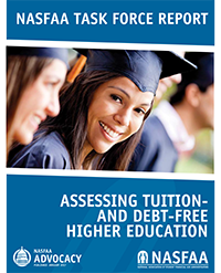 Assessing Tuition & Debt Free Higher Ed Report Cover