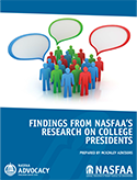 Findings from NASFAA's Research on College Presidents