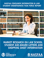 Market Research on Law School Student Aid Award Letters & Shopping Sheet Information