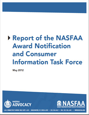 Award Notification Report Cover