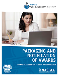 Packaging and Notification of Awards SSG