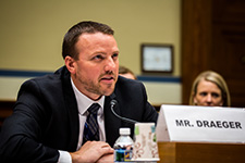 Justin Draeger Testifies before Congress